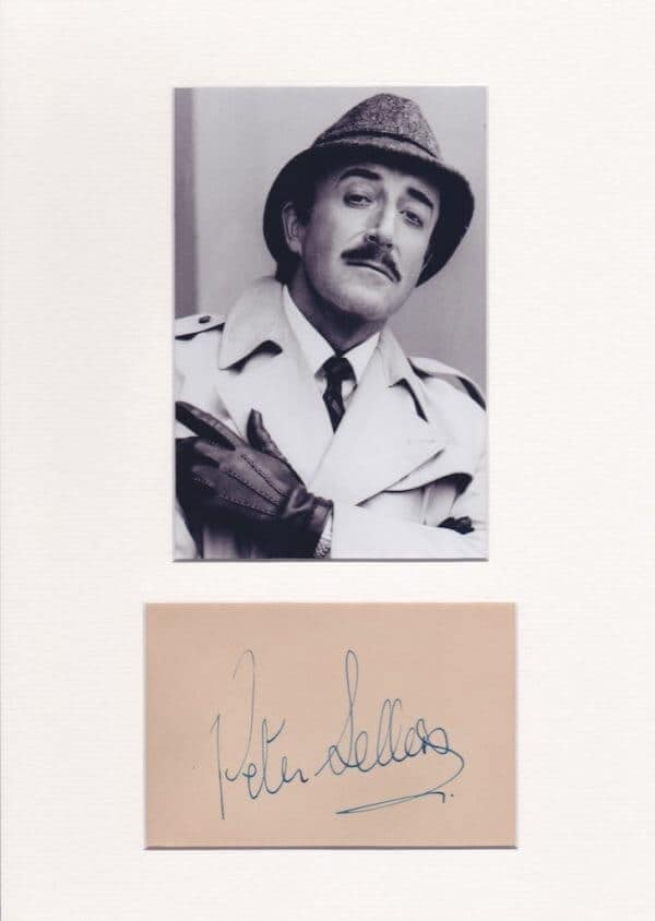 Peter Sellers Autograph