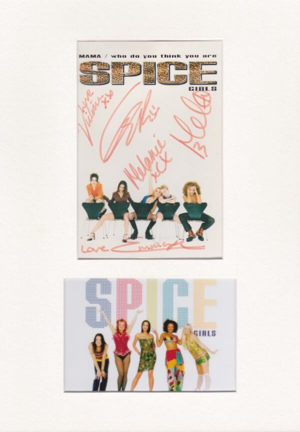 Spice Girls Autograph