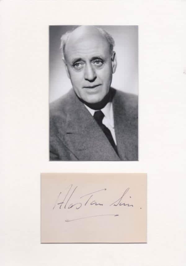 Alastair Simm Autograph