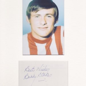 Bobby Stokes was an English footballer, well known for scoring the winning goal in the 83rd minute of the FA Cup Final for Southampton F.C