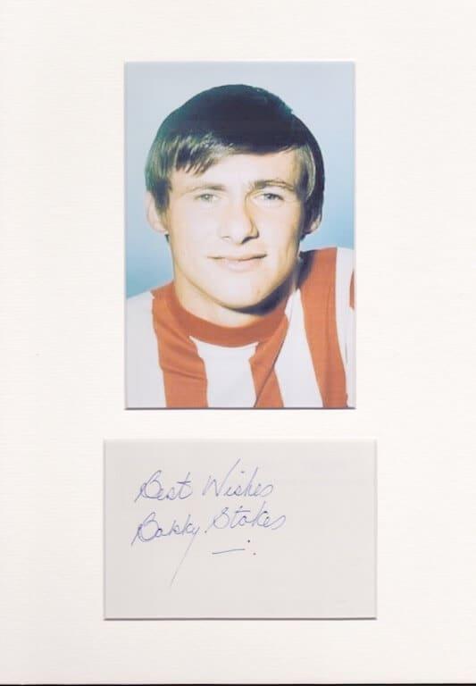 Bobby Stokes Autograph