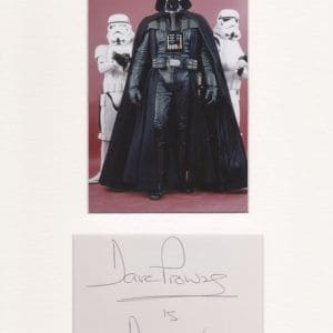 Best known for physically portraying Darth Vader in the original Star Wars trilogy.