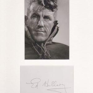 Sir Edmund Percival Hillary KG ONZ KBE was a New Zealand mountaineer, explorer, and philanthropist.