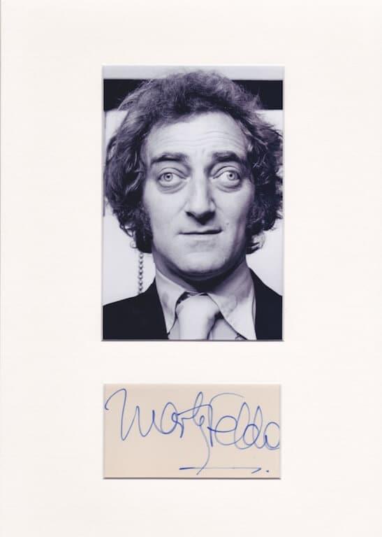 Marty Feldman Autograph
