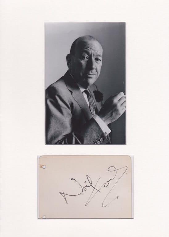 Noel Coward Autograph 2