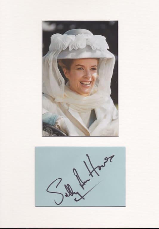 Sally Ann Howes Autograph