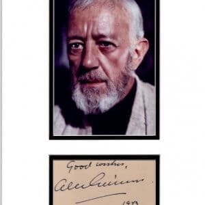 Sir Alec Guinness, CH, CBE (born Alec Guinness de Cuffe; 2 April 1914 – 5 August 2000)