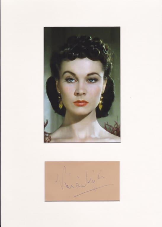 Vivien Leigh Autograph