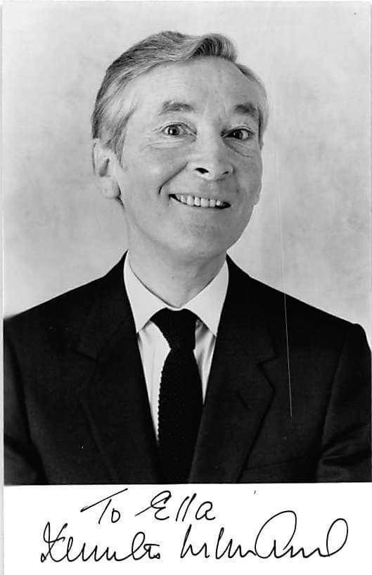 Kenneth Williams Signed Photo