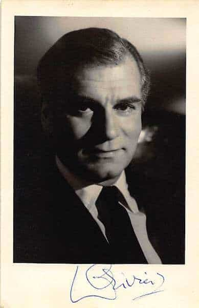 Laurence Olivier Signed Photo