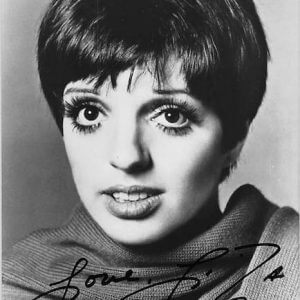 Liza Minnelli was born on March 12, 1946, the daughter of Judy Garland