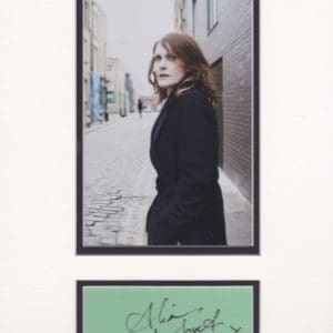 Alison Moyet know for her singing with the pop group Yazoo in the 80,s