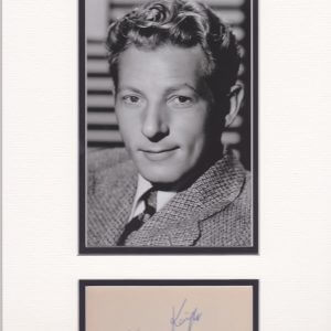 Danny Kaye, original name David Daniel Kaminsky.