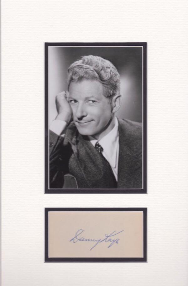 Danny Kaye Double Mounted