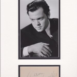 Orson Welles was born George Orson Welles in Kenosha, Wisconsin, on May6, 1915