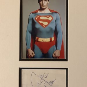 Christopher Reeve was born September 25, 1952 in New York City