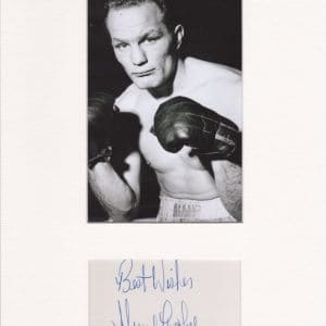 Sir Henry Cooper OBE KSG was an English heavyweight boxer.
