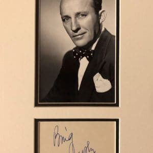 Bing Crosby was born Harry Lillis Crosby, Jr (May 3, 1903 – October 14, 1977).