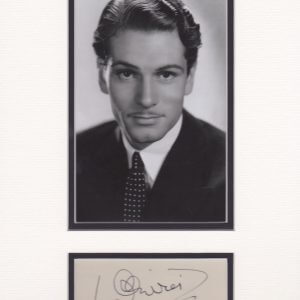 Laurence Olivier, in full Laurence Kerr Olivier, Baron Olivier of Brighton, also called (1947–70) Sir Laurence Olivier, (born May 22, 1907, Dorking, Surrey, England