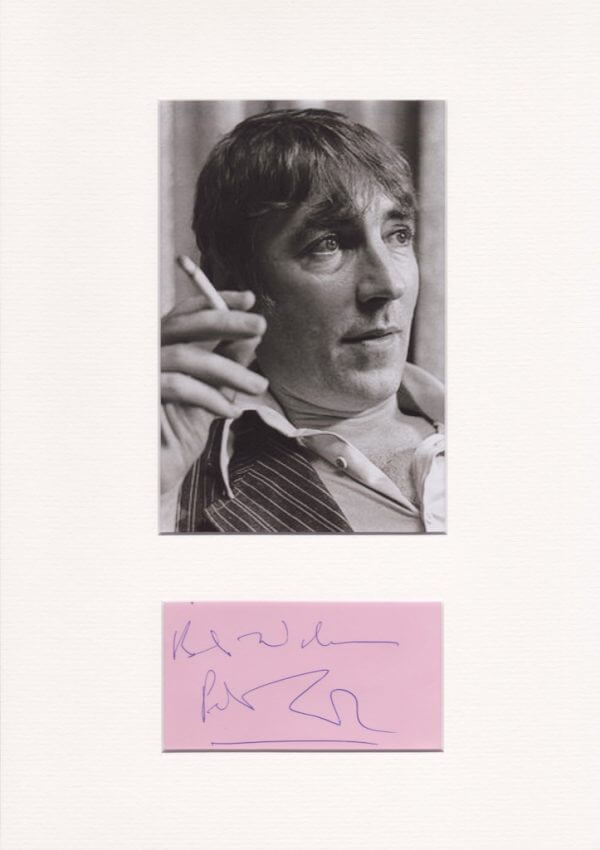 Peter Cooke Mounted Autograph