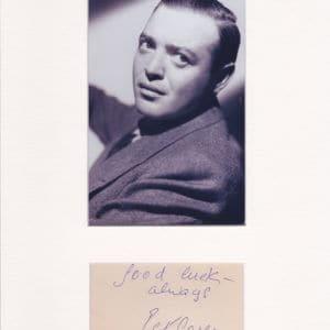 Peter Lorre (born László Löwenstein; 26 June 1904 – 23 March 1964)