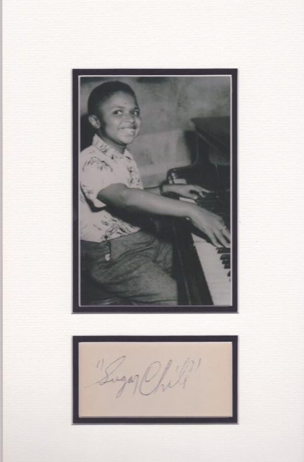 Sugar Chile Robinson Autograph