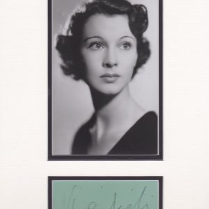Vivien Leigh was an English stage and film actress