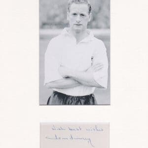 Sir Thomas Finney CBE (5 April 1922 – 14 February 2014) was an English footballer who played from 1946 to 1960 as an outside left for Preston North End and England