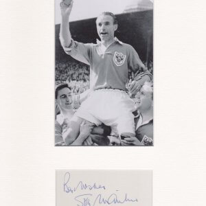 Sir Stanley Matthews, CBE (1 February 1915 – 23 February 2000) was an English footballer
