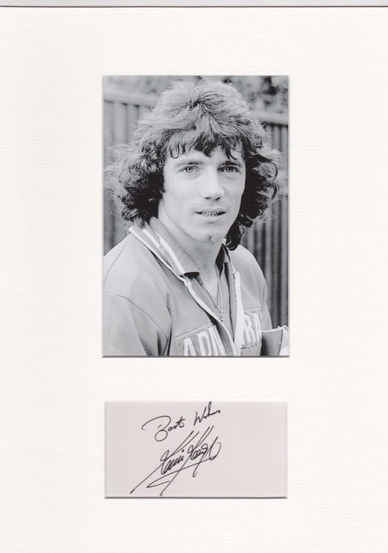 Kevin Keegan Mounted Autograph