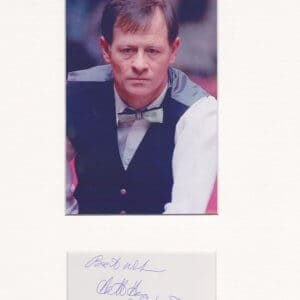Alexander Gordon Higgins was a Northern Irish professional snooker player