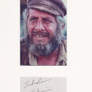 Topol was born on September 9, 1935 in Tel Aviv, Palestine as Chaim Topol. He is an actor, known for Fiddler on the Roof