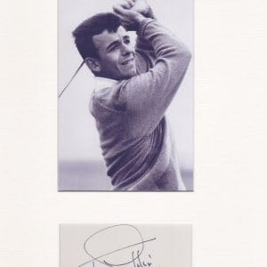 Anthony Jacklin CBE is a retired English golfer. He was the most successful British player of his generation