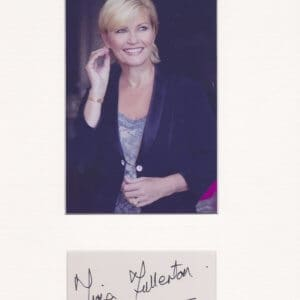 Fiona Elizabeth Fullerton (born 10 October 1956) is a British actress and singer