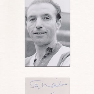 Sir Stanley Matthews, CBE (1 February 1915 – 23 February 2000) was an English footballer.