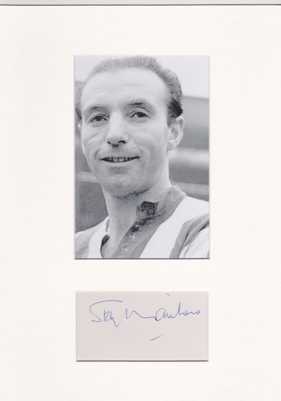 Stanley Matthews Autograph
