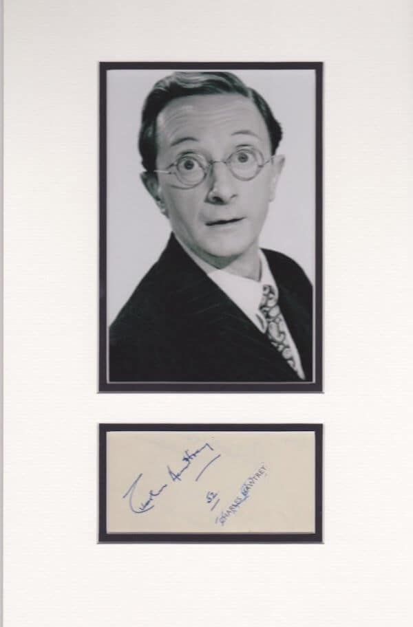 Charles Hawtrey Autograph Page