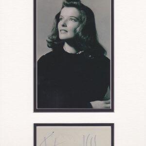 Katharine Houghton Hepburn was an American actress