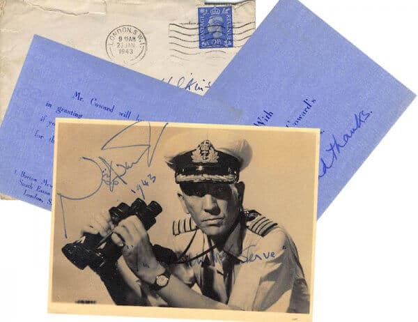 Noel Coward letter