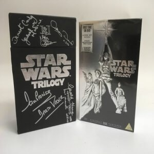 Signed by various actors