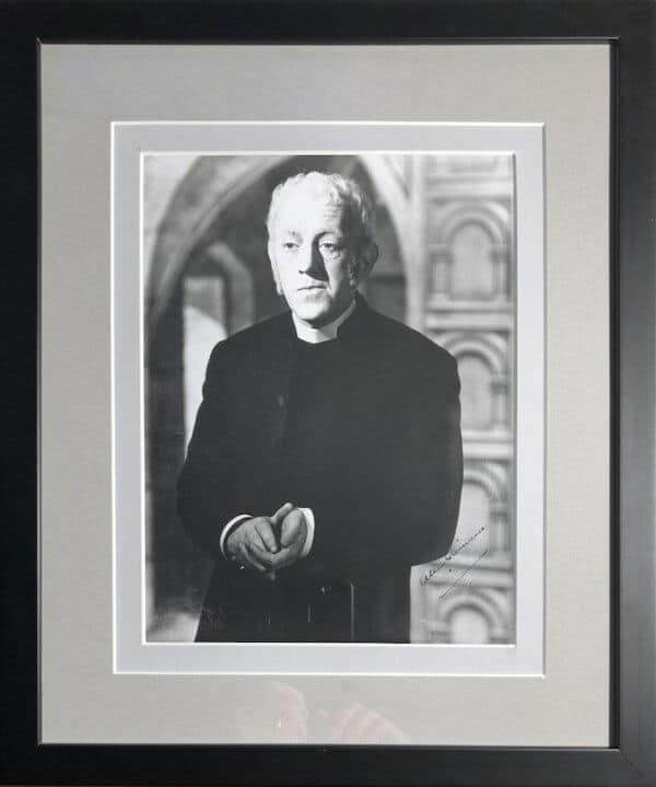 Alec Guinness Double mounted and framed 10x8 picture