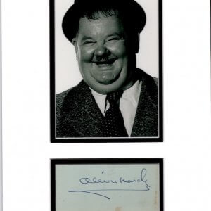 Oliver Norvell Hardy (born Norvell Hardy, January 18, 1892 – August 7, 1957)
