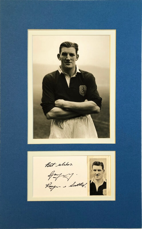 George Young Glasgow Rangers