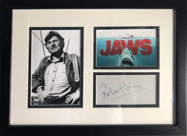 Robert Shaw Autograph