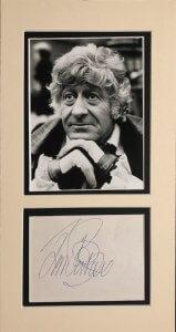 Jon Pertwee Autograph