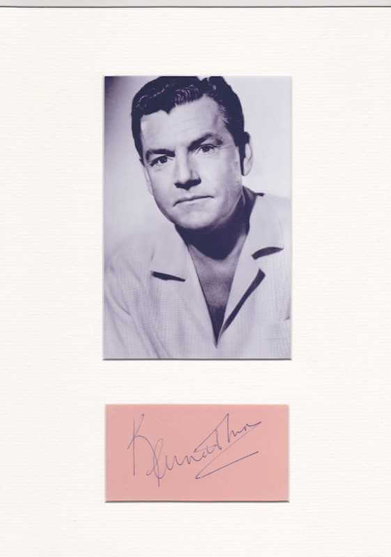 Kenneth More Autograph
