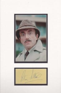 Peter Sellers Mounted Autograph