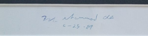 Muhammed Ali Autograph