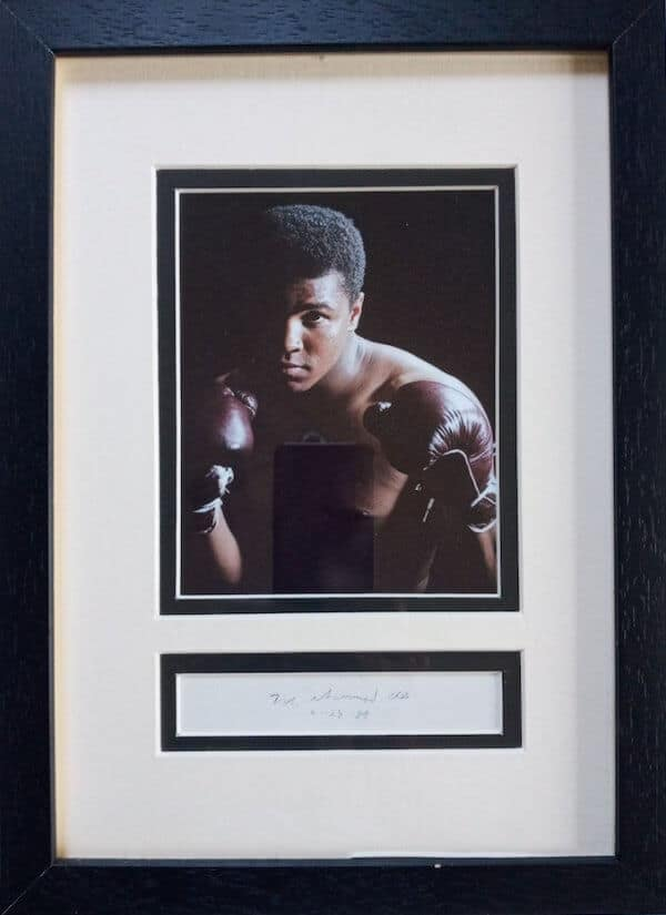Muhammed Ali Framed