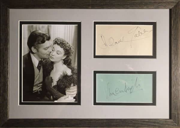Clarke Gable and Vivien Leigh Montage
